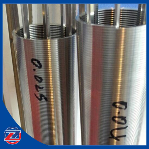 High Precision Stainless Steel Wedge Wire Filter