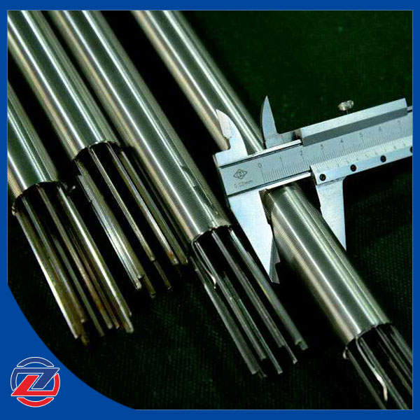 Slotted wedge wire filter element