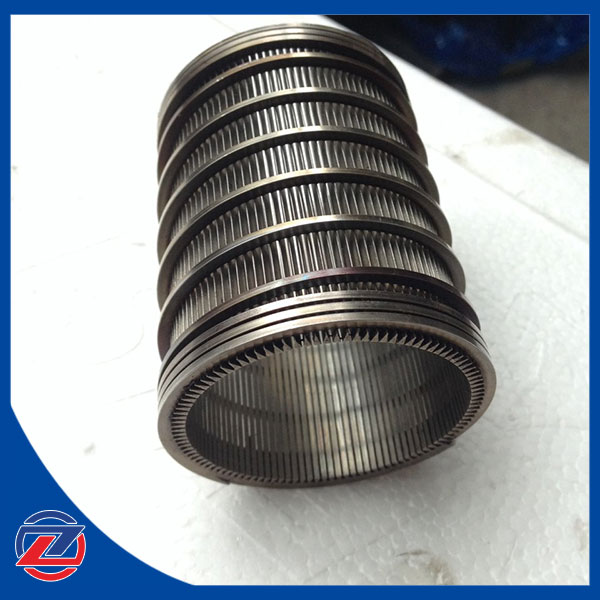 Smooth Side Inside SS Wedge Wire Filter Element