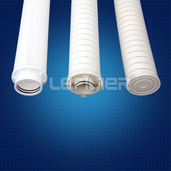 Factory high flow pleated filter cartridge