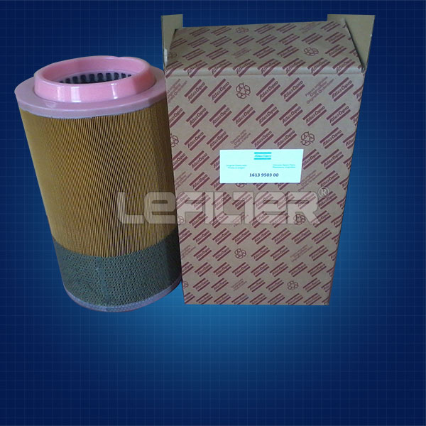 air filter 1613950300 for atlas copco