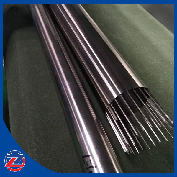 Industrial water filter wedge wire screen