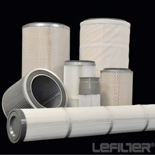 Polyester fiber dust air filter cartridge