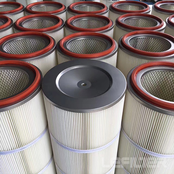 Pleated Polyester Dust Collector Air Filter Cartrid