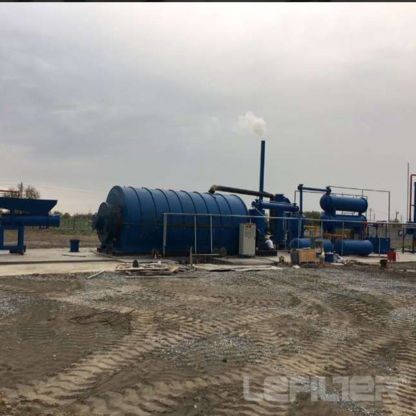 Recycling Waste Oil Distillation Machinery