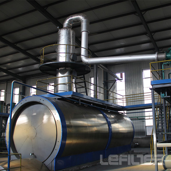Oil Purification Type Waste Engine Oil Re