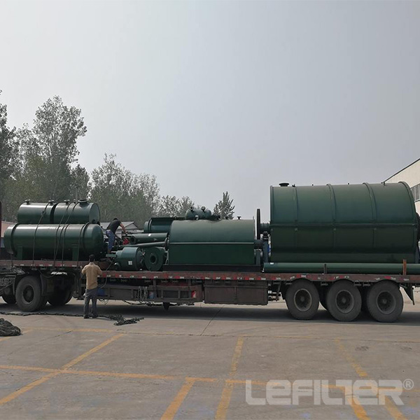 Waste Plastic/tire Pyrolysis refining To Oil Plant