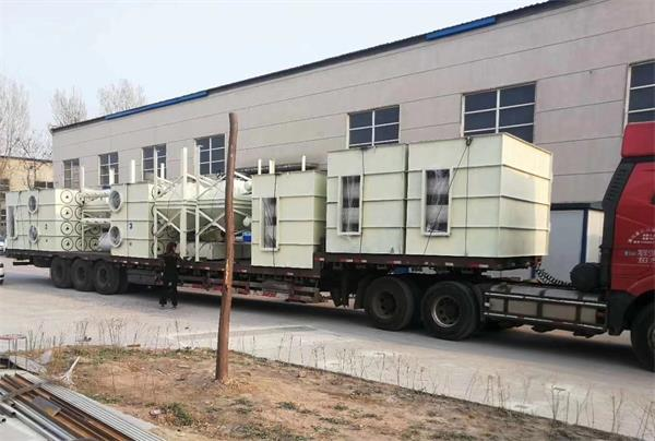 Air Filter Cartridge Dust Collector sent to India