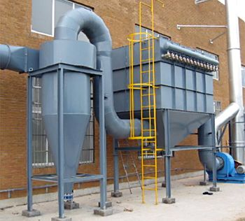 Big project suitable pulse jet bag filter dust coll
