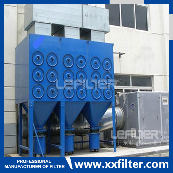 Filter Cartridge Dust Collector For Wood Factory