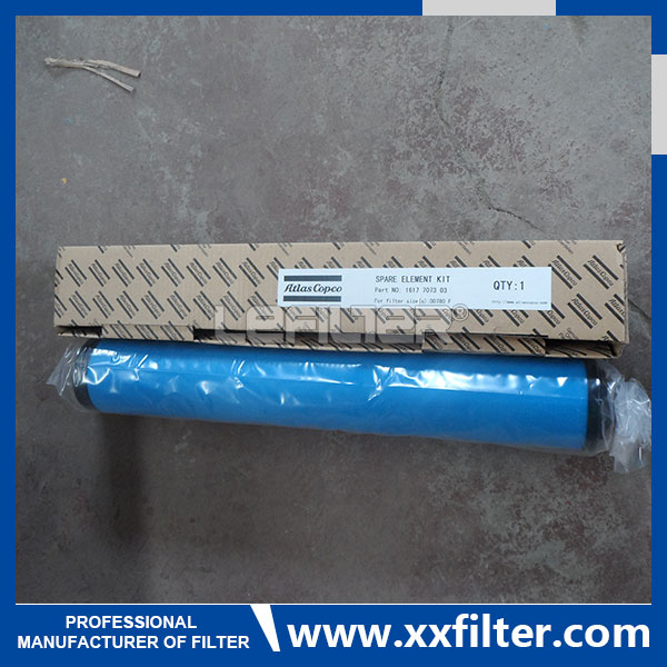 Atlas copco compressored air filter PD150 161770410