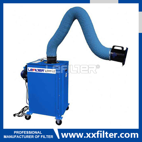 Portable welding dust removal equipment