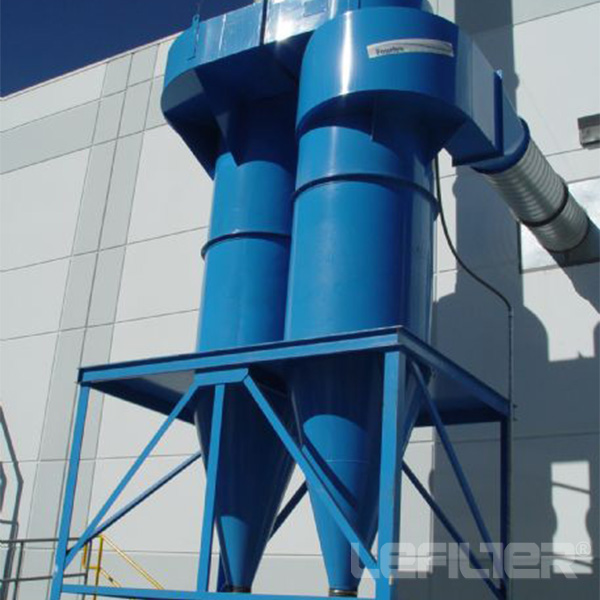 Cyclone dust collector bag house dust cleaning equi