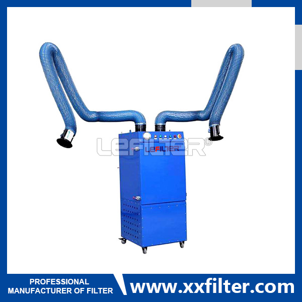 4500m3/h air flow welding fume extractor for air fi
