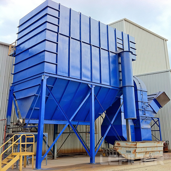 Bag house dust collector for cement industry factor