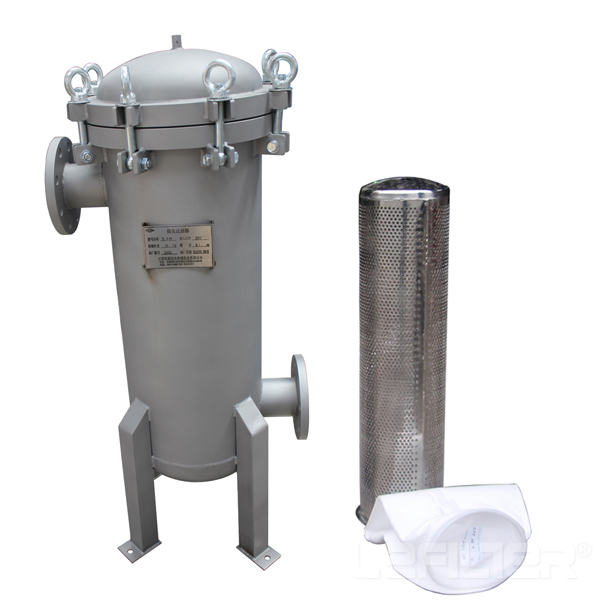 Steel plant use stainless steel filter housing