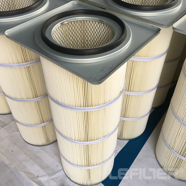 Square End Cap Air Filter Cartridge