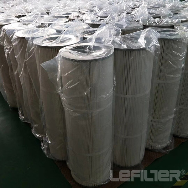Water Washable Cylindrical Pleated Dust C