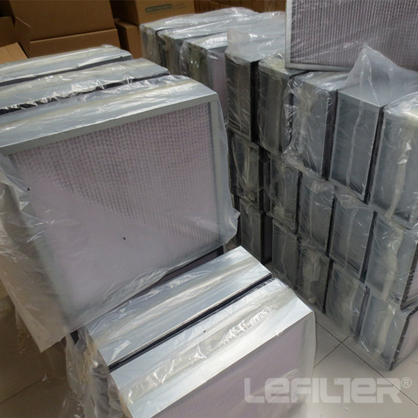 Terminal Deep Pleated HEPA Filter H13 H14