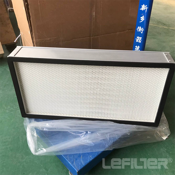 mini-pleated panel hepa filter with galvanized fr<x
