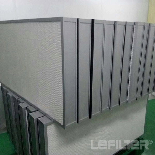 Mini-Pleat H14 HEPA Air Filter for FFU