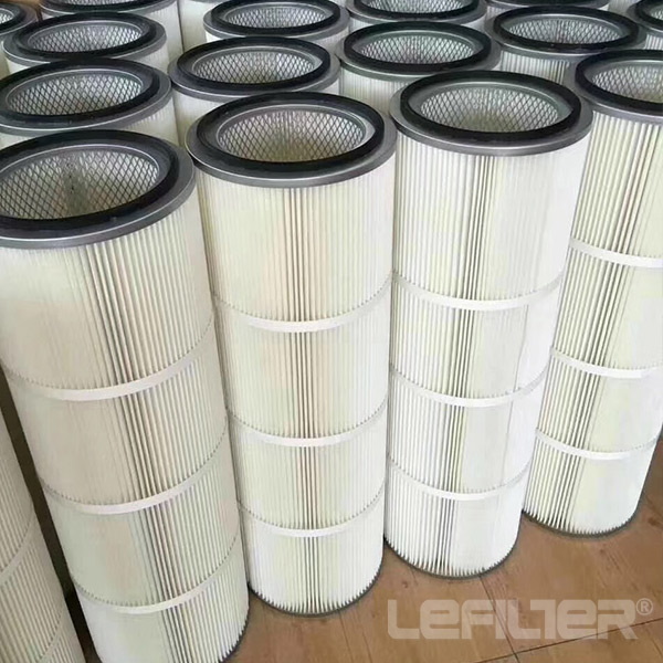 Spun bond media filter cartridge