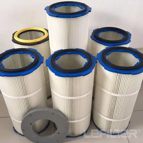 powder coating cartridge air filter