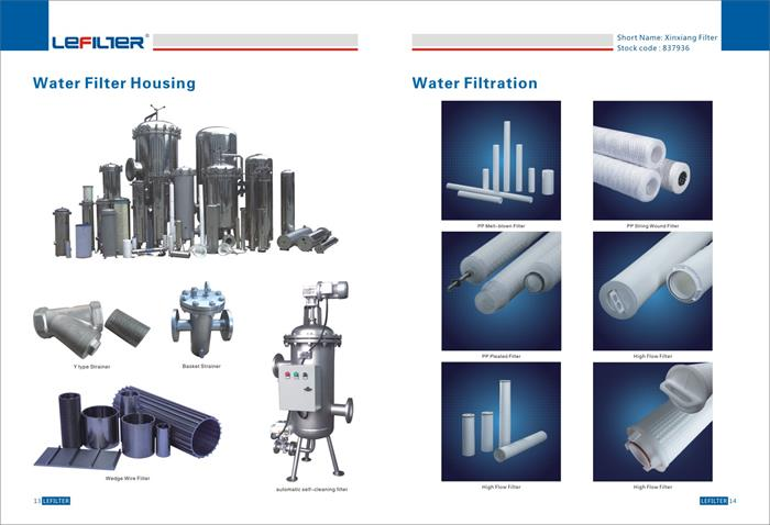Manufacturer of Water filter and filter housing