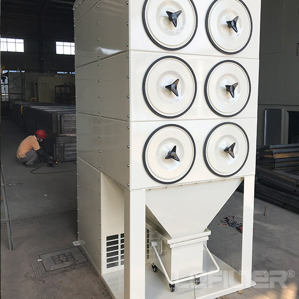 cartridge dust collector lefilter