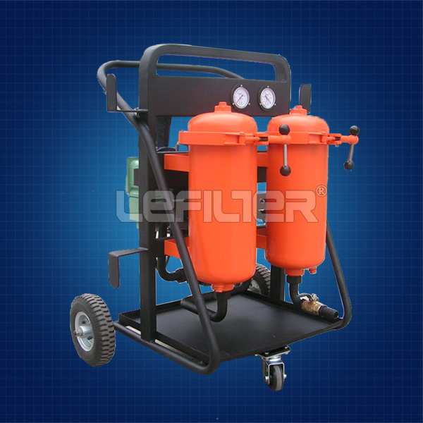 Hydac hydraulic oil filter cart