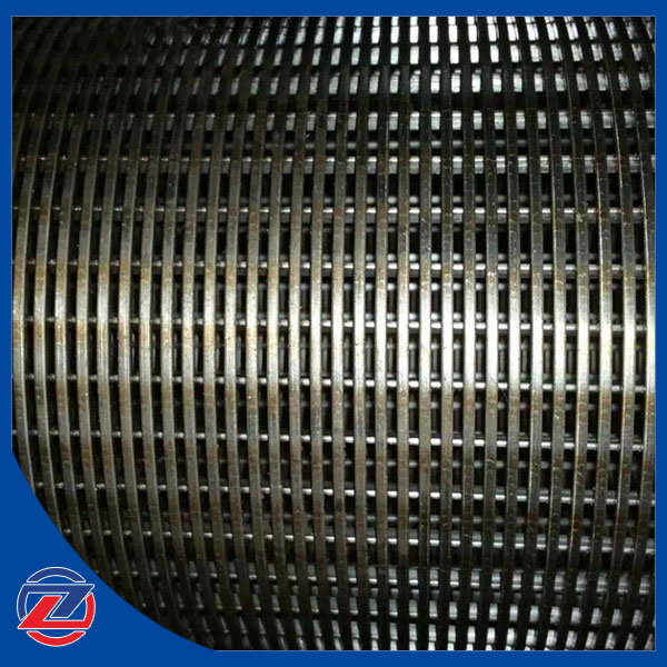 Stainless steel continuous groove filters