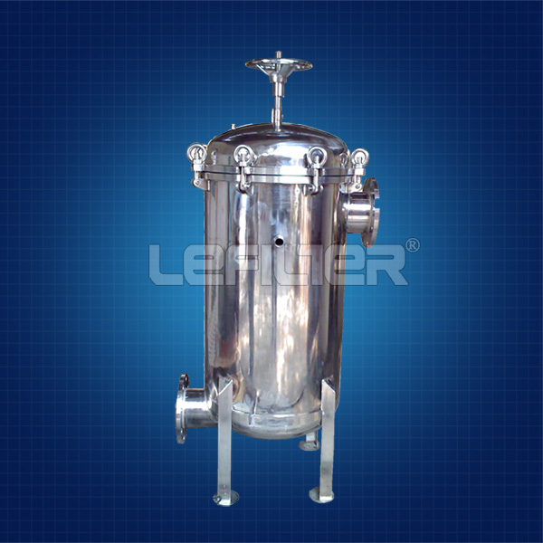 Stainless Steel Bag Filter Hous