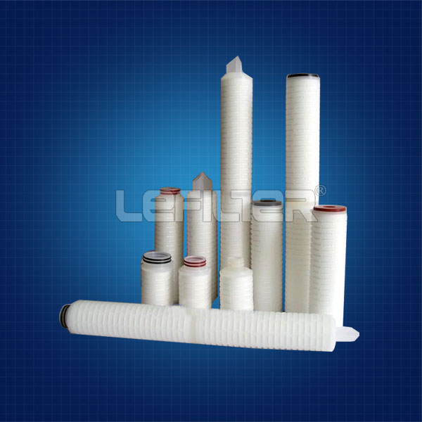 Condensed water treatment filter core cartridge