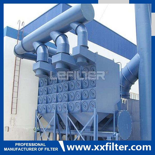 Supply Horizontal Cartridge Dust Collector For Ceme