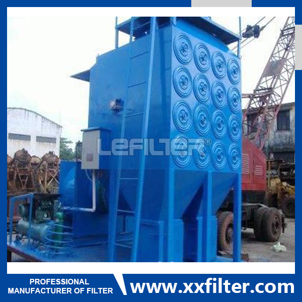 Horizontal Cartridge Dust Collector for Powder Pain