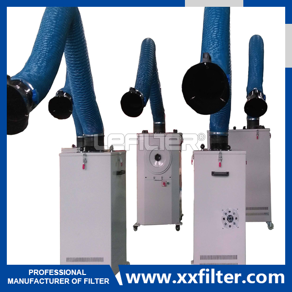 Mobile Filter Cartridge Welding Smoke Extractor Dus