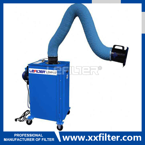 High Quality industry Mobile Welding Fume Exhaust