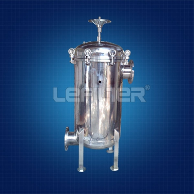Stainless Steel Bag Filter Housing for Water Trea