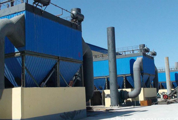 Pulse Bag Type Dust Collector installed in Vietnam