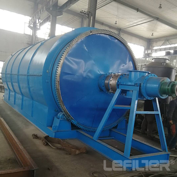 waste tires oil refining machine waste tyre/plastic