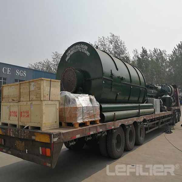 free installation waste plastic pyrolysis to fuel