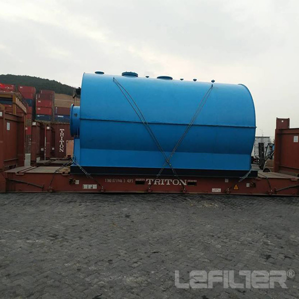 Waste Plastic Pyrolysis Plant to Fuel Oil  Steel Wi