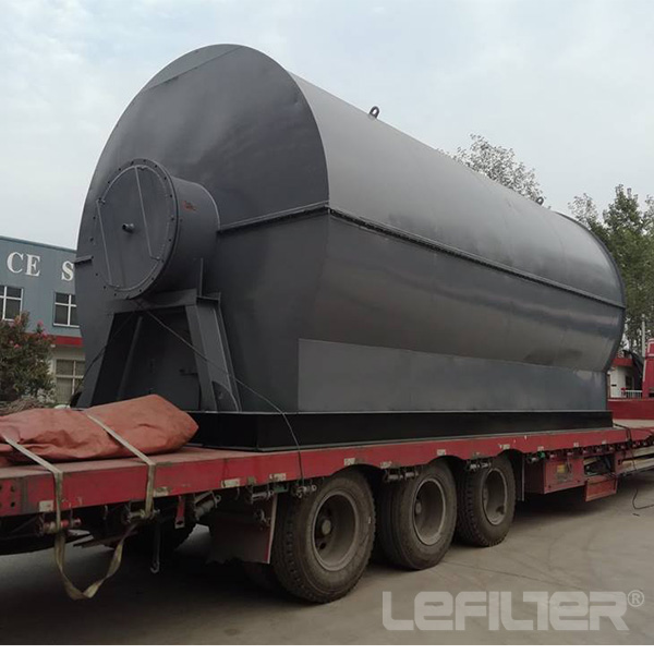Waste Plastic/tyre Pyrolysis Plant Recycling Machin