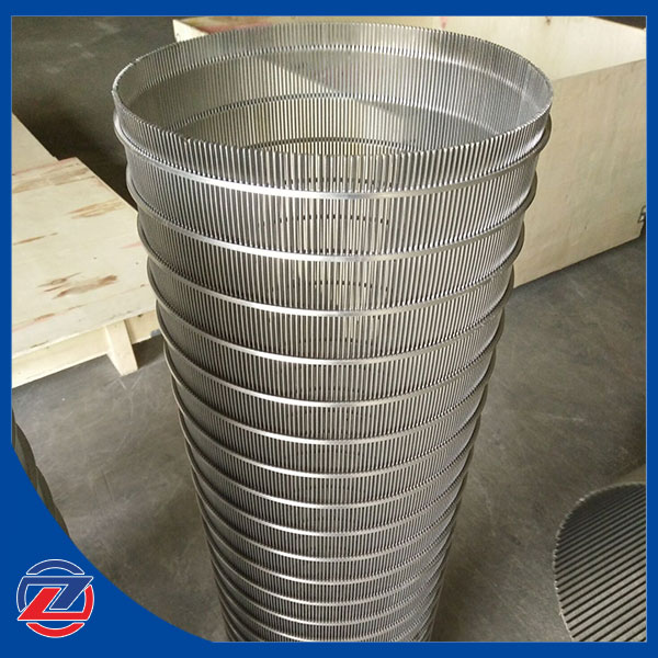 Wedge wire screen filter