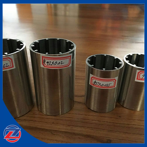 stainless steel 50micron wedge wire water filter