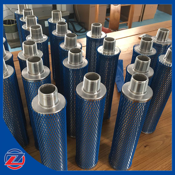 Wedge wire screen  wedge wire candle water filter