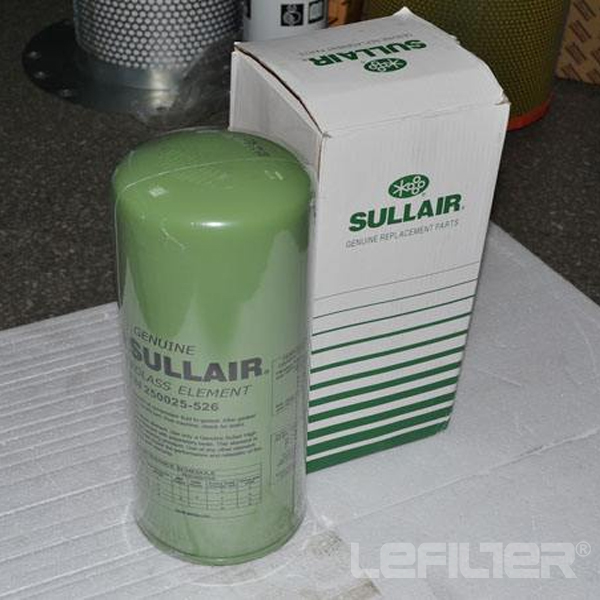 Air compressor sullair filter 250025-525