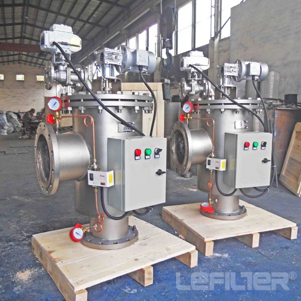Automatic Self Cleaning Petrochemical Industrial Fi