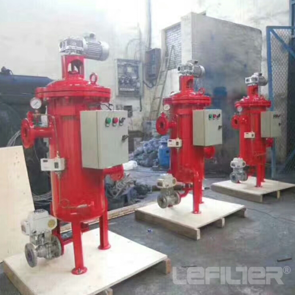 Automatic Backwash Multi - Cartridge Filter Stainle