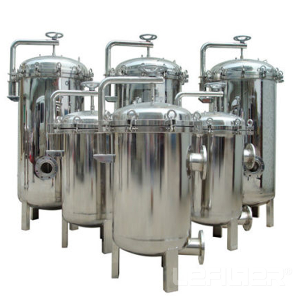 Multi Bag Filter Housing Reliable Operation For Ind
